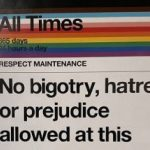 NYC Public Transit Posts Signs Threatening to Kill People Who are Disrespectful to Trans People