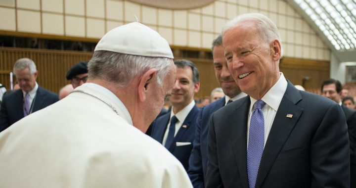 The Vatican has warned U.S. bishops not to deny Communion to President Biden. L'Osservatore Romano/Pool photo via AP